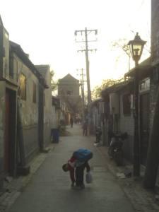 A Beijing hutong (alleyway). Copyright: Lu-Hai Liang.