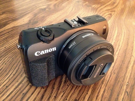Canon EOS M2 with 22mm lens (40mm equiv. view)