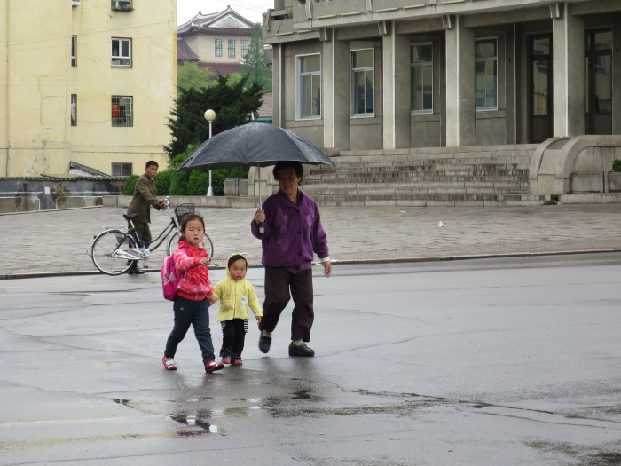 Another street scene. This was taken in Kaesong, a city close to the South Korean border.