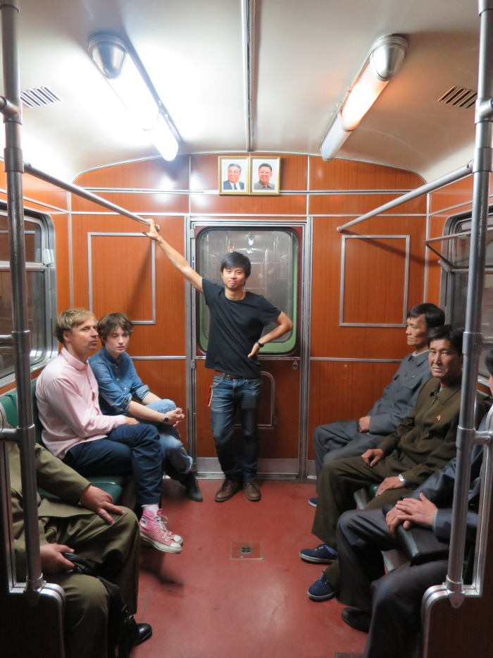 Riding the Pyongyang Metro.  Going to North Korea has so far been my only instance of travel + journalism. I aim to remedy this.